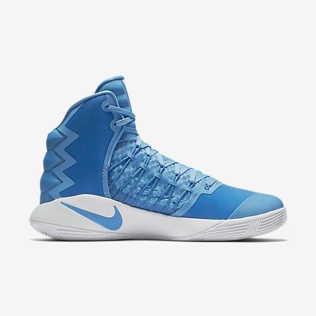 NIKE - 844368-443 - Hyperdunk 2018 TB - Men's Shoes - Carolina Blue - Size 10.5