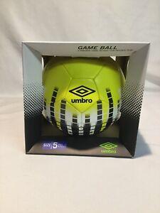 umbro size 5 soccer ball