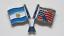 縮圖 9 - PIN'S Insignia FIFA WORLD CUP 1994 Estados Unidos MUNDIAL USA Banderas Futbol