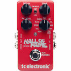 TC Electronic Hall of Fame Reverb HOF True Bypass Guitar FX Pedal With