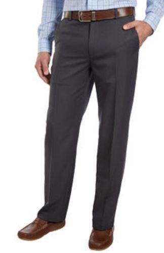 Izod Performance Stretch Dress Mens Pants Sz 30 X 30 Dk Gray Strght