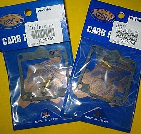 2 carb kits Yamaha 88-97 XV750 88-99 XV1100 Virago kit gasket Mikuni 18-5185