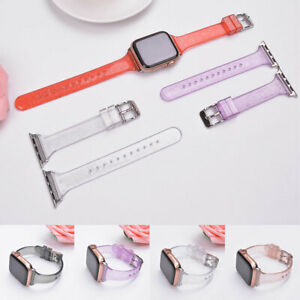 Suitable For Apple Watch Strap Glitter Silicone Universal Watch Replacement Belt