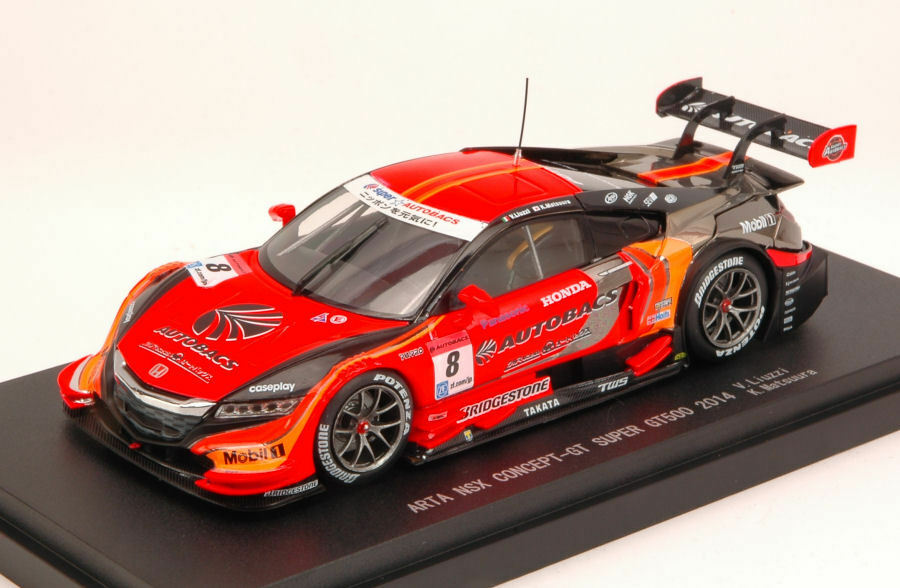 Honda NSX  8 16th Super gt500 V. Liuzzi K. Matsuura 1 43 Model 45072 EBBRO