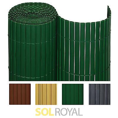 Sichtschutzzaun PVC Sichtschutzmatte Windschutz Sichtschutz Balkon Garten Zaun