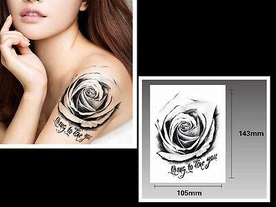 Einmal-Tattoo Temporary Tattoo  wasserdicht 105*143mm  Neu