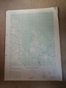 Large-28x22-1947-Topo-Map-Old-Dock-North-Carolina-Crusoe-Island-Waccamaw