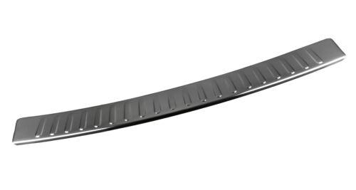 Skoda Superb Kombi 3V Chrome Edelstahl Ladekantenschutz mit Abkantung bis 2018