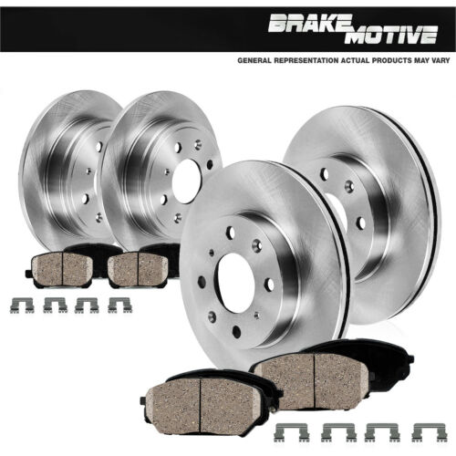 Front And Rear OE Rotors /& Ceramic Pads For 2002 2003 2004 2005 Hyundai Elantra