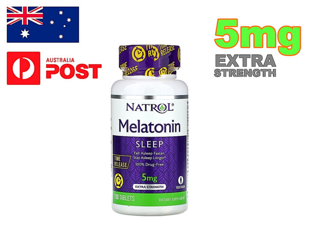 NATROL 5MG EXTRA STRENGTH NIGHT TIME SLEEP AID 100 TABLETS