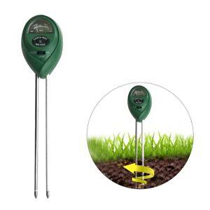 3-in1-PH-Wert-Boden-Erde-Licht-Feuchtigkeit-Messgeraet-Tester-Bodentester-Gruen-DE