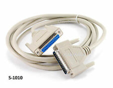 10ft DB25 Multi Purp RS-232 Serial/Parallel M/F Straight-Thru Extension Cable