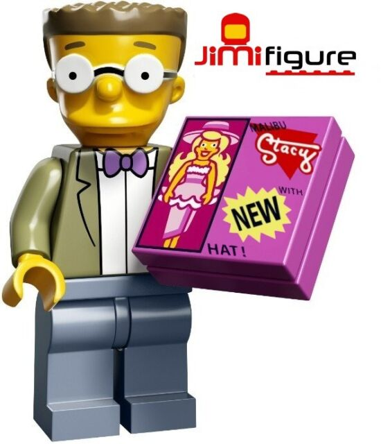 NEW LEGO Minifigures Waylon Smithers Jr Simpsons Series 2 71009 Minifigure Mini