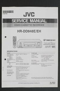 Details about JVC HR-DD848E / Eh Original VCR Video Recorder Service on vcr cabinet, vcr hookup diagram basic, vcr control panel, tv dvd vcr diagram, connecting vcr to tv diagram, vcr parts diagram, vcr player back diagram, vcr player schematics, vcr to vcr hookup antenna, comcast cable box connection diagram, dvd vcr cable diagram, vcr dvd combo hdtv digital converter diagram, vcr repair diagram, vizio tv diagram, panasonic tv hookup diagram,