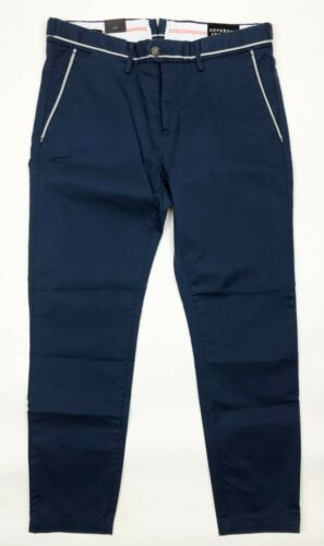 Chrome Blue Premium Chino W36 L32 Superdry *NEW WITH TAGS* RRP £75