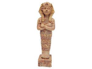 Ancient Pharaoh Statue Aquarium Egyptian Ornament Fish Tank