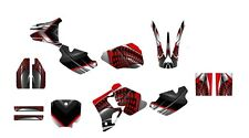1996 1997 1998 1999 2000 2001 2002 CR 80 graphics CR80 deco kit #7777 Red