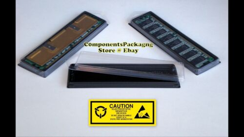 DDR RAM Memory Case Clam Shell for Single DIMM Modules Lot of 15 25 40 80 150