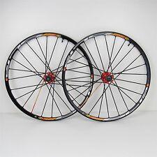 "26"" Mavic Crossmax SLR SSC Wheel Set, UST Tubeless Disc 9mm QR 9/10 Speed"