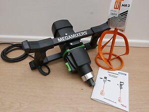REFINA MEGAMIXER MM30/2 110V 1800W MIXER DRILL & 160MM PADDLE + SPONGE FLOAT