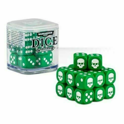 Chaos Legion Dice Set compatible with Warhammer 40,000 games