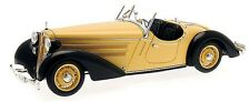 CMC 1:18 1935 Audi 225 Front Roadster, black / yellow, M-075A
