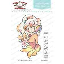 TRISHELL MERMAID-The Greeting Farm Clear Photopolymer Stamp-Stamping Craft-Anya
