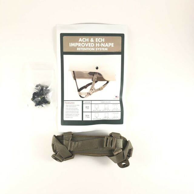Ops-Core ARMY ISSUED ACU HEAD-LOC ACH RETENTION SYSTEM H-NAPE S//M CHINSTRAP NEW