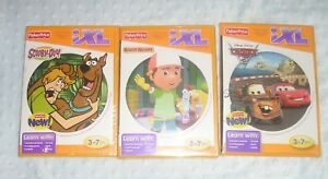 Lot-of-4-Fisher-Price-IXL-Learning-System-CD-Games-NEW