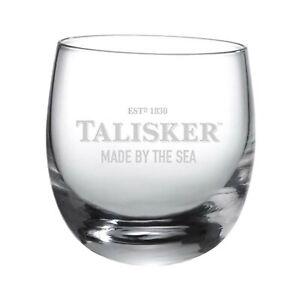 Talisker-Rocking-Glas-Schriftzug-Single-Malt-Whiskey-Whisky-Alkohol-Drink-250-ml