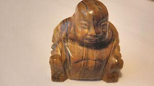 TIGER-EYE-CARVED-BUDDHA-TIBETAN-PROTECTION-PROSPERITY-CLEAR-ENERGY-ALIGN-BALANCE