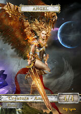 3x Angel #14 Custom  Altered Tokens MTG (for Geist of Saint Traft)