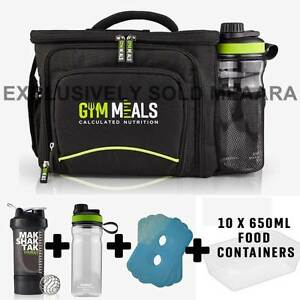 Image Is Loading Genesis 6 Meal Management Bag Black UK