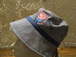 a7f166cc Image is loading Mothercare-Peppa-Pig-Boys-Hat-3-6-Months-