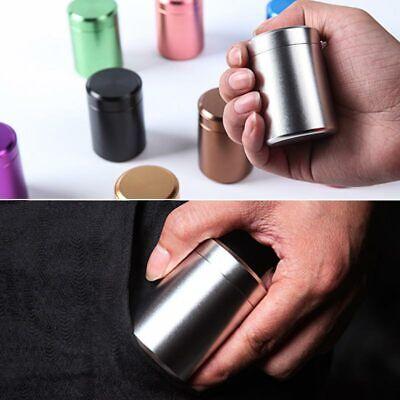 80 ml étanche odeur preuve Conteneur Aluminium Herb Stash Métal Scellé peut Tea Pot