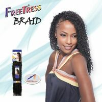Bohemian Braid 20 Freetress Synthetic Braiding Bulk Hair