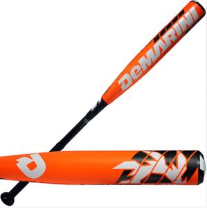 DeMarini 2016 Voodoo Raw Youth Baseball Bat 31in 18oz, (-13), 2-1 4