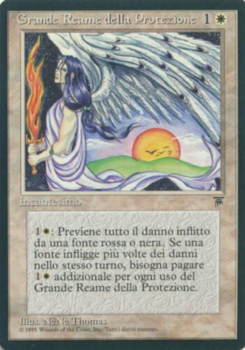 MTG Magic the Gathering ITALIAN Legends Greater Realm of Preservation /'LP!