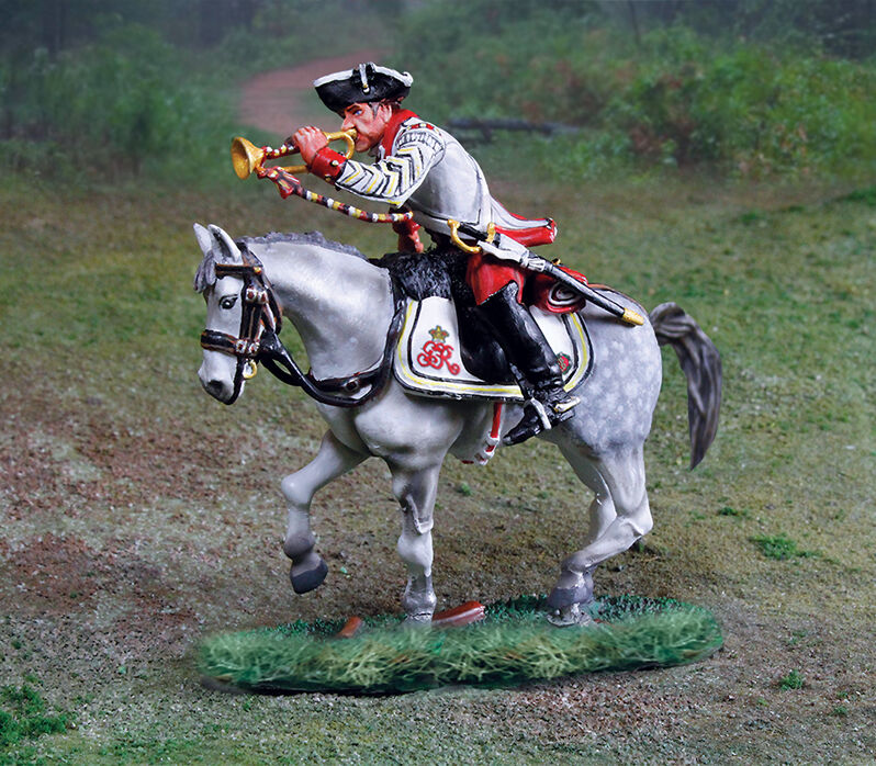 COLLECTORS SHOWCASE CS00884 - British 17th Dragoons Trumpeter