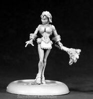 Brigitte Naughty French Maid 50084 - Chronoscope - Reaper Miniatures d&d Wargame