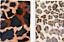 A4 Plancha De Tela Fusible en tela de piel de imitación de Leopardo//Animal 21 X 29.7cm Libre P/&P