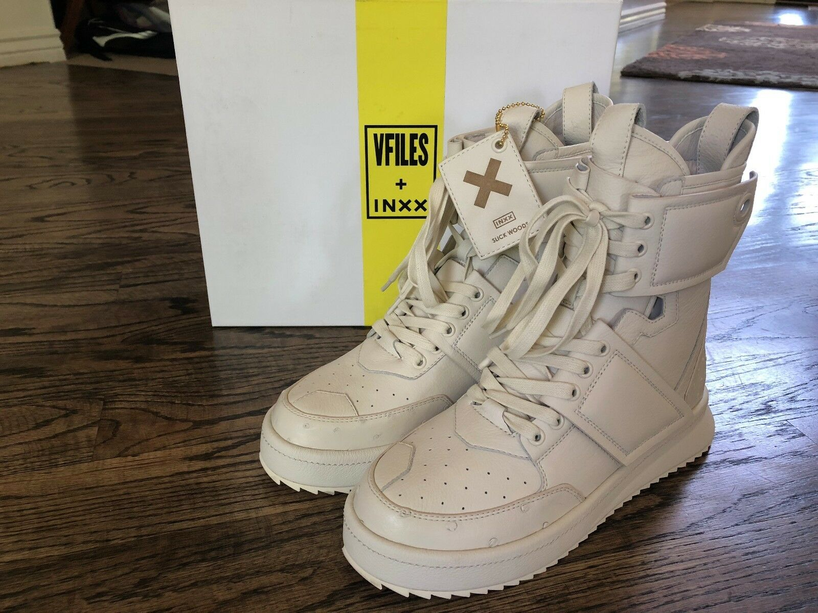 V-Files+ INXX street HYPERION 17 High Top scarpe scarpe scarpe Slick Woods Dimensione 9 NIB 33c5a4
