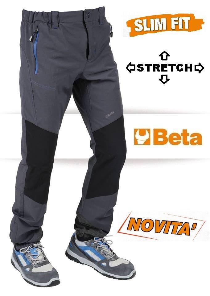 BETA PANTALONE DA LAVORO TREKKING SLIM FIT TESSUTO STRETCH 7811 VARIE TAGLIE