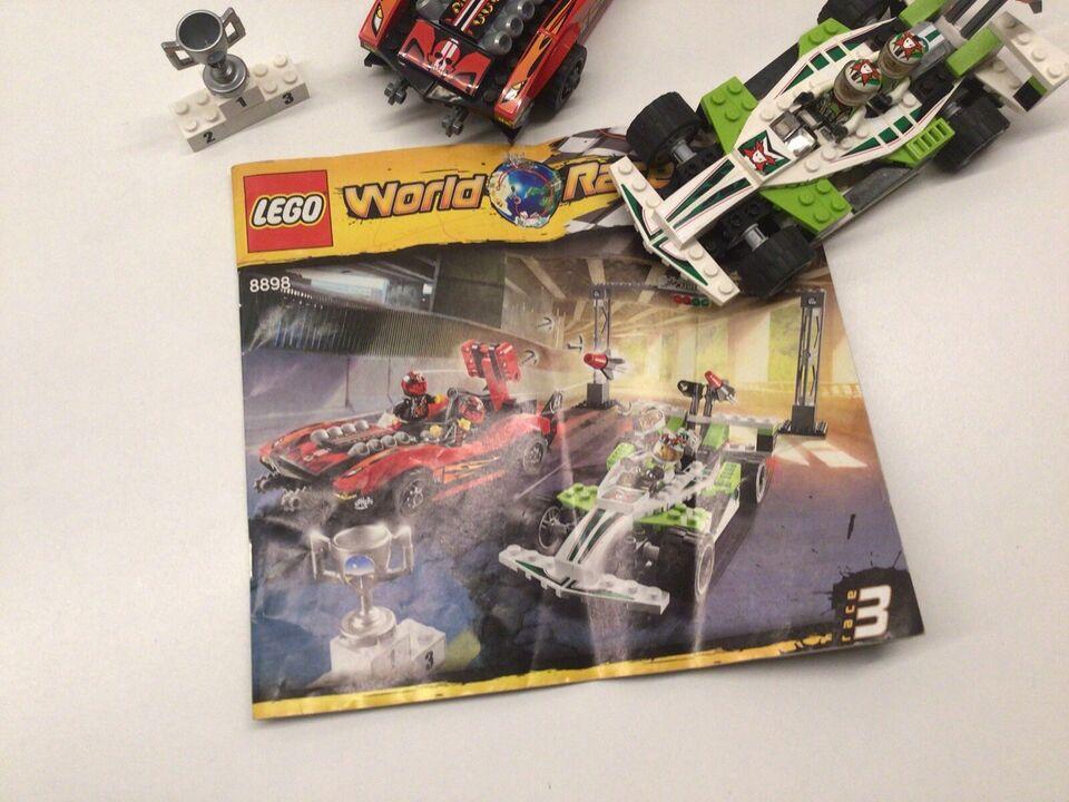 Lego World of Racers, 8898