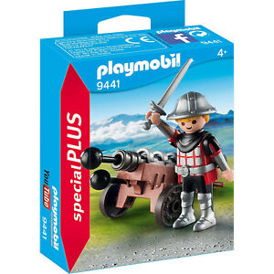 Playmobil-Knight-With-Cannon-Building-Set-9441-NEW-IN-STOCK