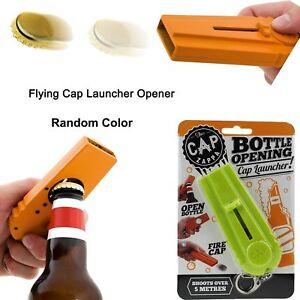 1x-Cool-Flying-Cap-Zappa-Bottle-Opener-Launcher-Fancy-Beer-Openers-With-Key-Ring