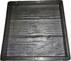 Moule pour fabrication pour dalle de terrasse ou allée façon bois 40  x  40 cm