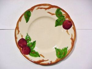 Image is loading Franciscan-Pottery-034-APPLE-034-Pattern-8-B- & Franciscan Pottery \