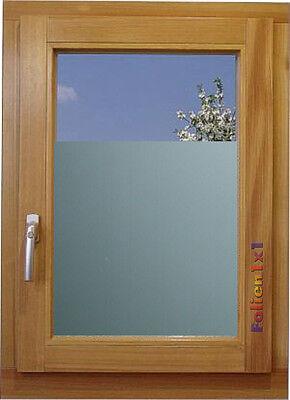 Glas Dekor Folie Milchglas silber Effektoptik 90 cm x 152 cm Fenster Dusche Büro