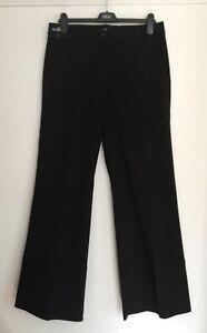 Next Black Wide Leg Trousers 6/8/10/12/16/18 Rrp £42 Elegant Im Geruch Kleidung & Accessoires